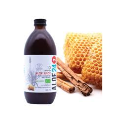 Totally Wild aloe ferox ital mézes- fahéjas ízű 500 ml