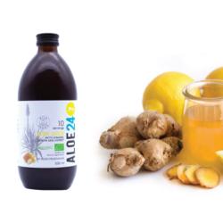 Totally Wild aloe ferox ital gyömbéres- citromos ízű 500 ml